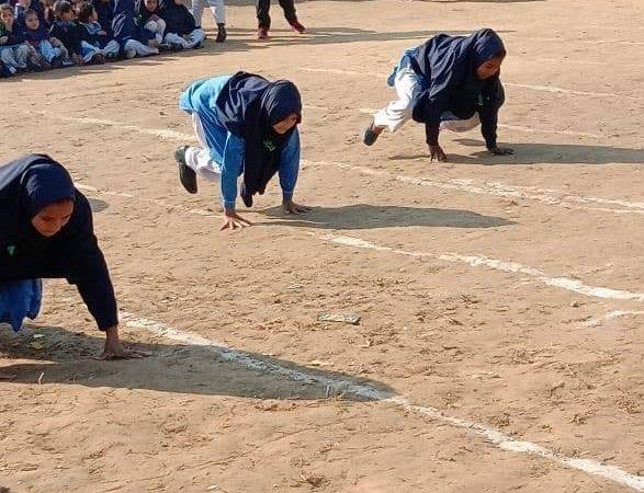Project Sports Ground SAYA SCHOOL MAIRA AKKU