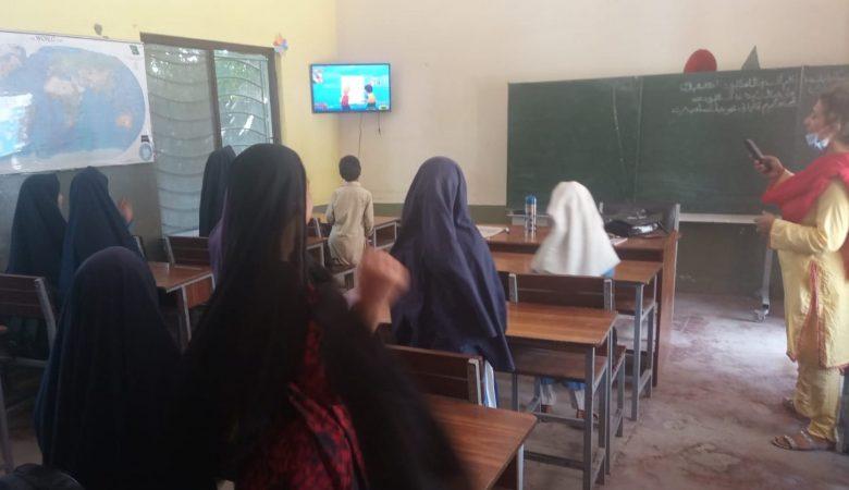 LED SCREENS für SAYA SCHOOL MAIRA AKKU